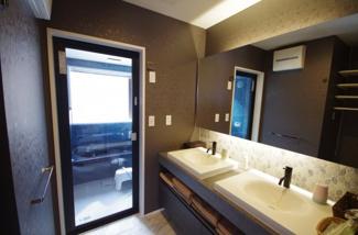 ホテルスタイルの洗面台