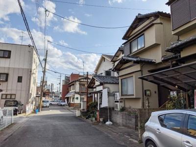 【前面道路含む現地写真】京都市伏見区醍醐鍵尾町