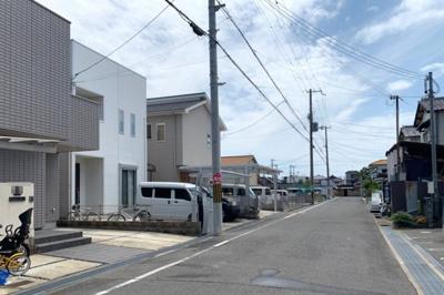 ゆったりとした街並みの下池田町のお家です
