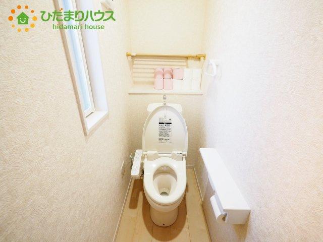 【トイレ】龍ケ崎市中根台3丁目 中古戸建