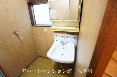 【洗面所】宮和田E邸