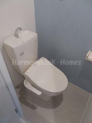 CRAISEのゆったりとした空間のトイレです
