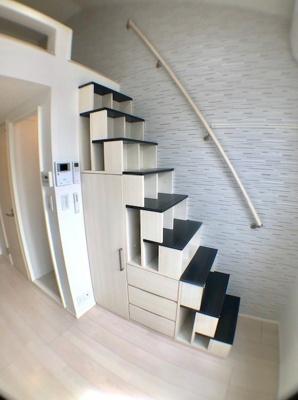 ハーモニーテラス大森西の収納付き階段☆