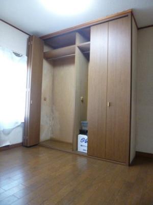 収納スペースの写真。
