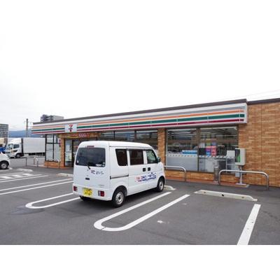 コンビニ「セブンイレブン塩尻吉田原店まで624m」