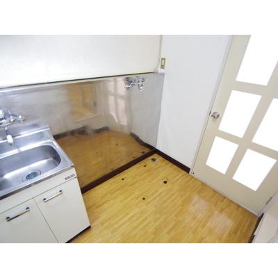 【キッチン】マンションビッグソルトヒルA棟