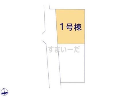 【区画図】リーブルガーデン倉敷 片島第4 1号棟
