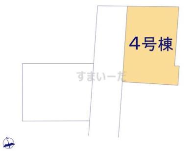 【区画図】リーブルガーデン倉敷 片島第4 4号棟