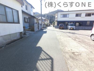 【前面道路含む現地写真】相生市栄町/中古戸建