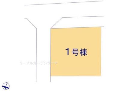 【区画図】リーブルガーデン倉敷市上東 新築