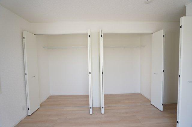 8.5帖 使い勝手のよいシンプルなクローゼットです。本日、建物内覧できます。住ムパルまでお電話下さい!
