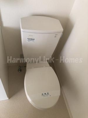 コンパートメントハウス鳩ケ谷Ⅱのトイレもきれいです☆