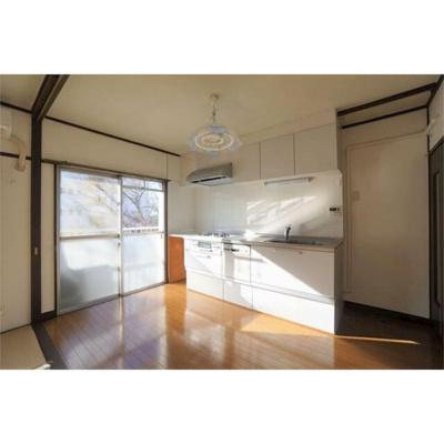 【キッチン】新座団地1街区4号棟