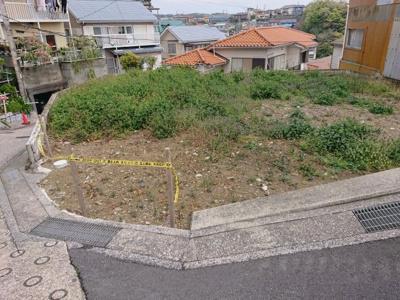 【外観】横須賀市二葉2丁目 建築条件なし土地