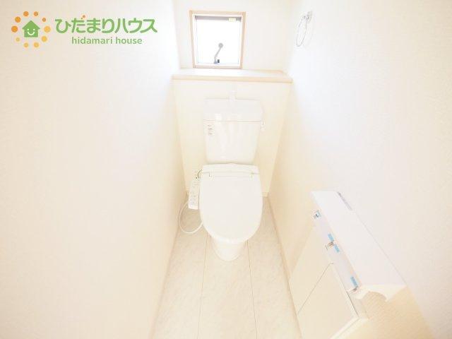 家計に嬉しい節水仕様のトイレ!(^^)!