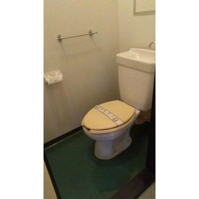 【トイレ】天王町スカイハイツ6号棟