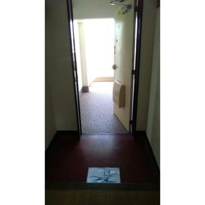 【玄関】天王町スカイハイツ6号棟