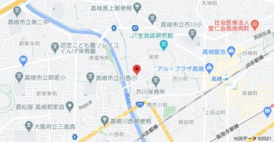 【地図】中屋一号館 (株)Roots