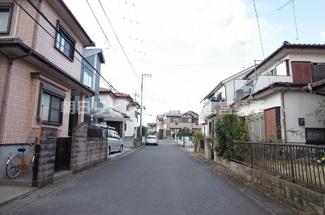 【前面道路含む現地写真】久喜市野久喜 古家付土地