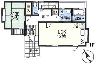 間取り図:1階