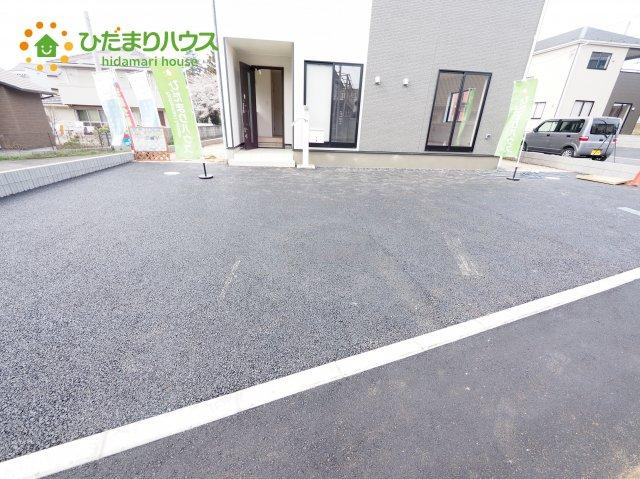 広々とした駐車場!お友達が遊びに来ても安心(#^^#)