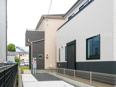 【外観】名古屋市中村区二瀬町129【仲介手数料無料】新築一戸建て 2号棟