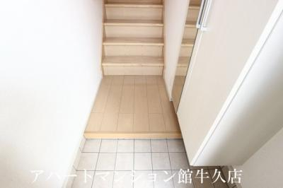 【玄関】クレアール春日C