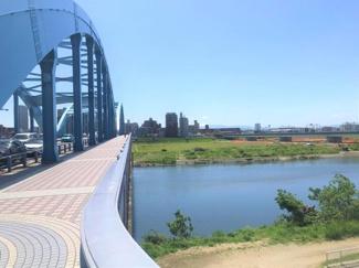 丸子橋まで100m