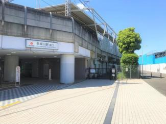 東急東横線多摩川駅まで400m