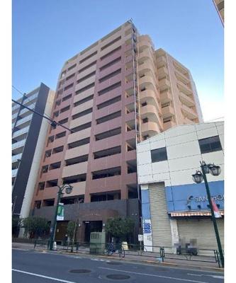 総戸数45戸、鉄筋コンクリート造13階建マンションです。