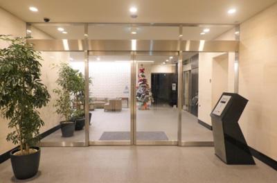 【エントランス】プラウドタワー武蔵浦和ガーデン