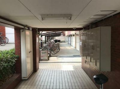 【エントランス】ユースフル祐天寺