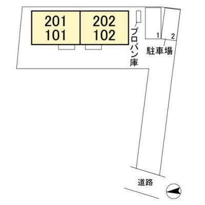 【区画図】ハックベリー Ⅱ