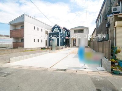 【外観】名古屋市中川区江松3丁目 新築一戸建て 1号棟