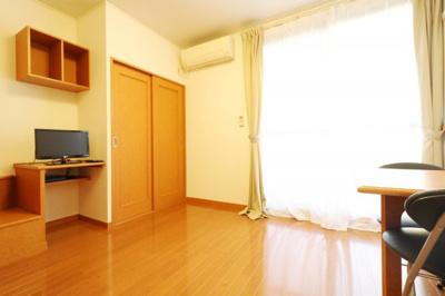 【寝室】レオパレスサウスファーム