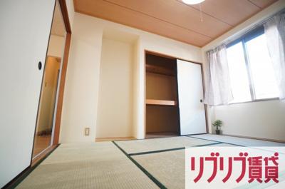 【寝室】末広サンフレアB