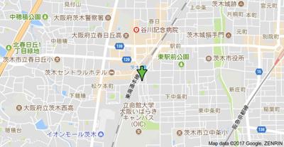 【地図】エンゼルウチダマンション