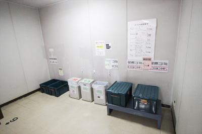 共有ゴミ捨て場(10階)