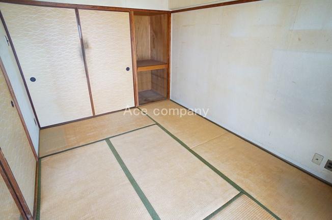【和室6帖】収納スペースあります。