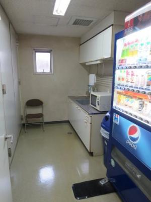 5階の給湯室