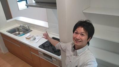 【キッチン】天白区土原3丁目2期 1号棟<仲介手数料無料>