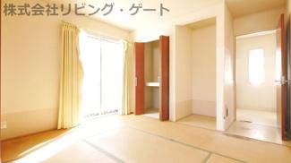 1階の南向きの和室です