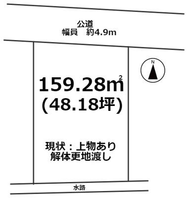 【外観】姫路市勝原区山戸/売土地