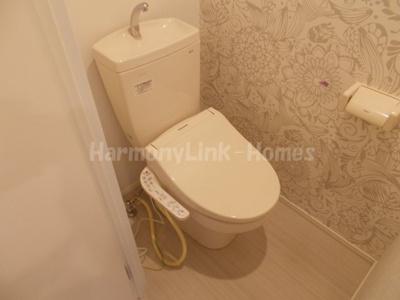 ハーモニーテラス神谷Ⅲのコンパクトで使いやすいトイレです☆