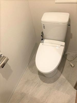 トイレも新調していますので、前住人の使用感の心配なく安心してご利用いただけます♪