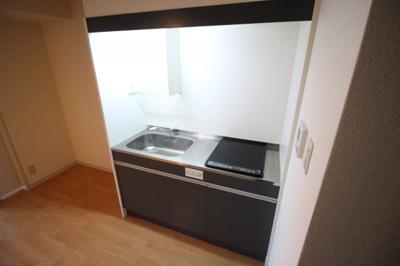 キッチン4.3帖 広めのキッチンで使い易いです