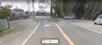 【前面道路含む現地写真】成田市山之作 第一種住居 売地