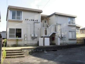 【外観】《高積算!13.13%》山口県光市虹ヶ丘一棟アパート