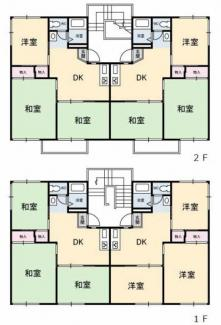 《高積算!13.13%》山口県光市虹ヶ丘一棟アパート