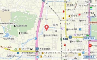 【地図】プロムナードWS